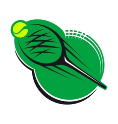 Tennis sports icon vector