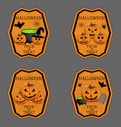 The theme halloween vector