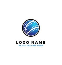 World film strip logo design global international vector