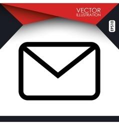 social media icon design vector image vector image