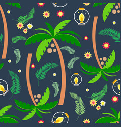 summer seamless pattern 1 vector image vector image