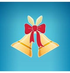 Holiday jingle bells merry christmas vector