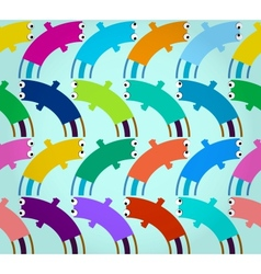 abstract decorative funny seamless pattern vector image