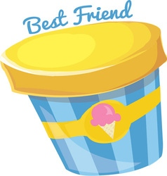 Best Friend vector