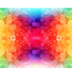 Bright hexagonal pattern for Your design vector image