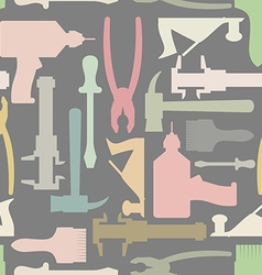 Construction tools seamless Pattern background vector