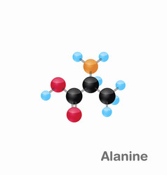 Molecular omposition and structure of alanine ala vector