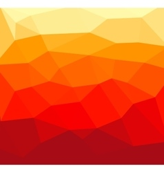 Red polygon abstract vector