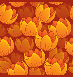 Seamless background flowery topic 1 vector