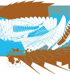 wall abstract vector image