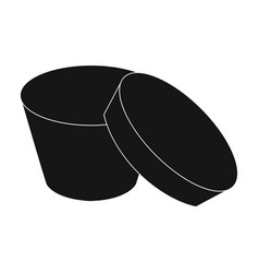 box packing paper and other web icon in black vector image