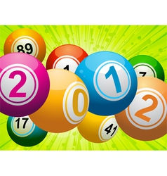 new year bingo vector image