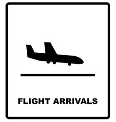 airport sign airport icons set vector image