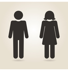 icon gender differences vector image vector image