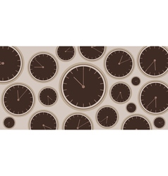 Clock background vector