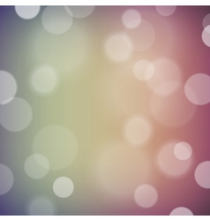 Festive background with bokeh defocused lights vector