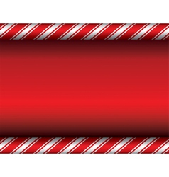 Red Candy Cane Christmas Background vector