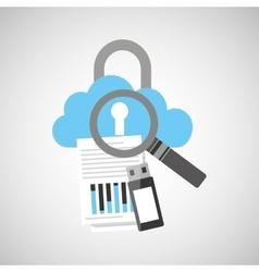 technology communication icon vector image