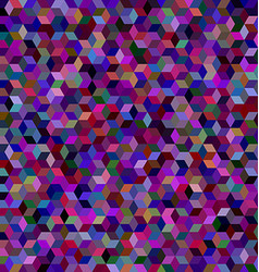 Dark 3d cube mosaic background design vector image vector image