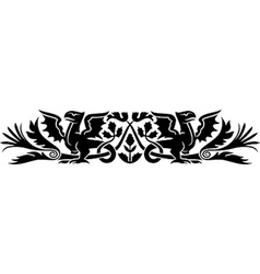 Medieval Scotch pattern vector image