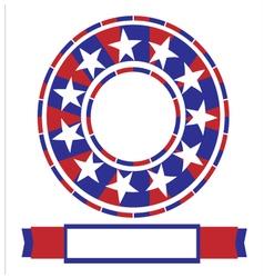 Banner American vector