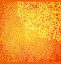 Elegant shiny indian background with mandala vector