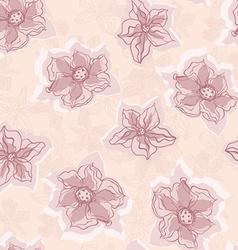 PeachFlowers vector image