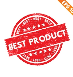 Stamp sticker best product collection - - E vector image