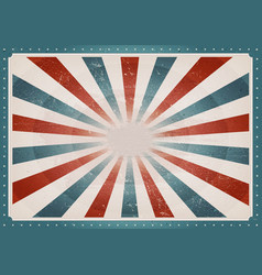 vintage american background vector image
