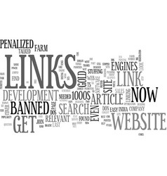 Why links count the power of links part two text vector