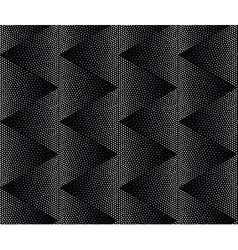 Zigzag geometric seamless pattern Repeating vector