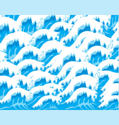 Background from waves vector