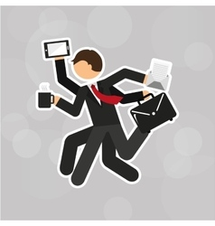 Businessman concept design vector