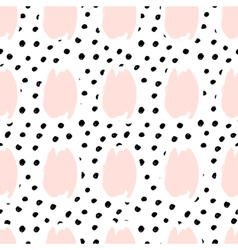 Hand Drawn Abstract Seamless Pattern vector image