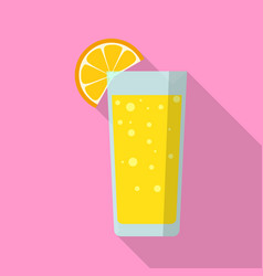 juice icon flat style vector image