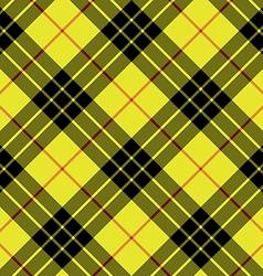 Macleod tartan kilt fabric texture background vector