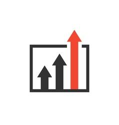 advantage icon vector image vector image