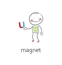 Magnet vector image