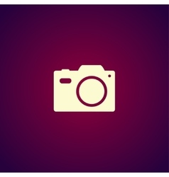 camera - icon vector image