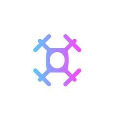drone icon sign symbol vector image