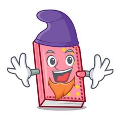 Elf diary character cartoon style vector