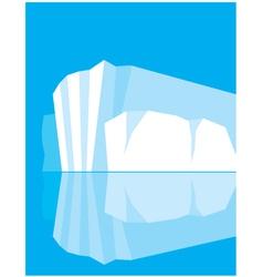 Glacier vector