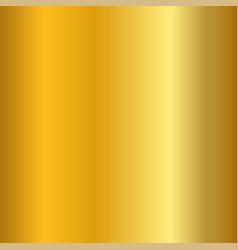 Gold gradient smooth texture empty golden metal vector