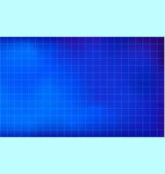 graph paper grid lines blue color background vector image