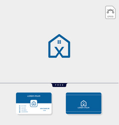 Initial creative logo template minimalist logo vector