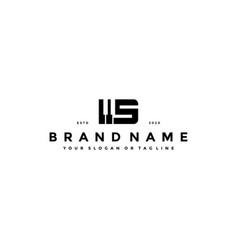 Letter s piano logo design vector