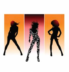 queen of night vector image