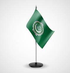 Table flag arab league vector