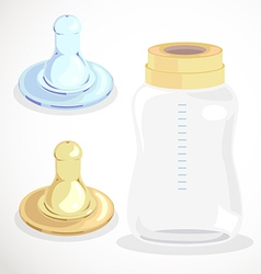 childs pacifier vector image vector image