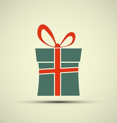 Icon of gift box vector image vector image